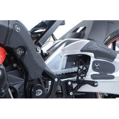 Adhésif anti-frottements R&G Racing noir cadre et bras oscillant BMW S 1000 RR 15-18