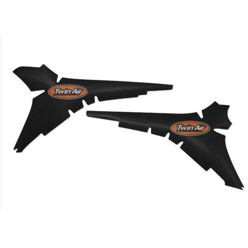 Kit déco boîte à air anti-dérapant Twin Air Noir pour Yamaha YZ 250 F 14-19