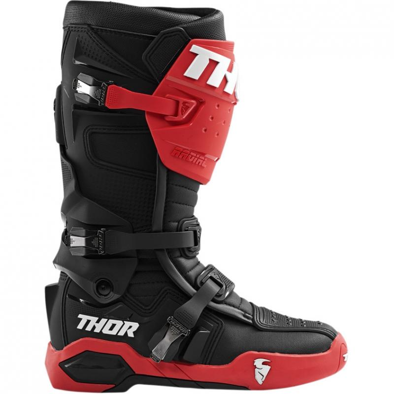 Bottes cross Thor Radial rouge/noir - 4
