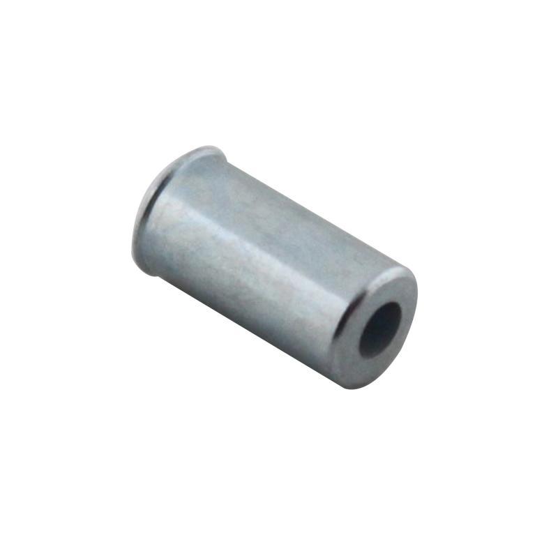 100 embouts de gaine cyclo algi D. 6,1 Alesage D. 5,5mm longueur 12mm