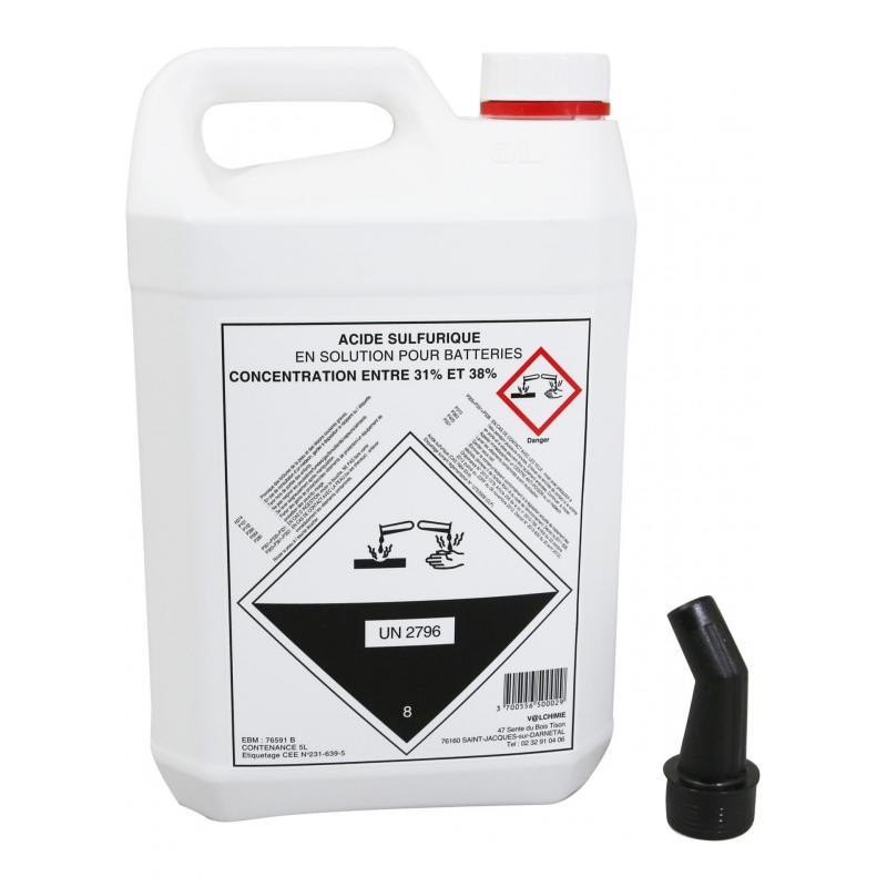 Acide de batterie 5L