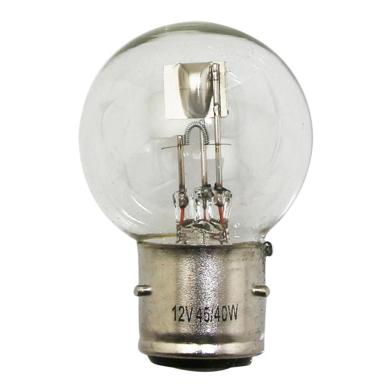 Ampoule 12V 45-40W BA21D blanc
