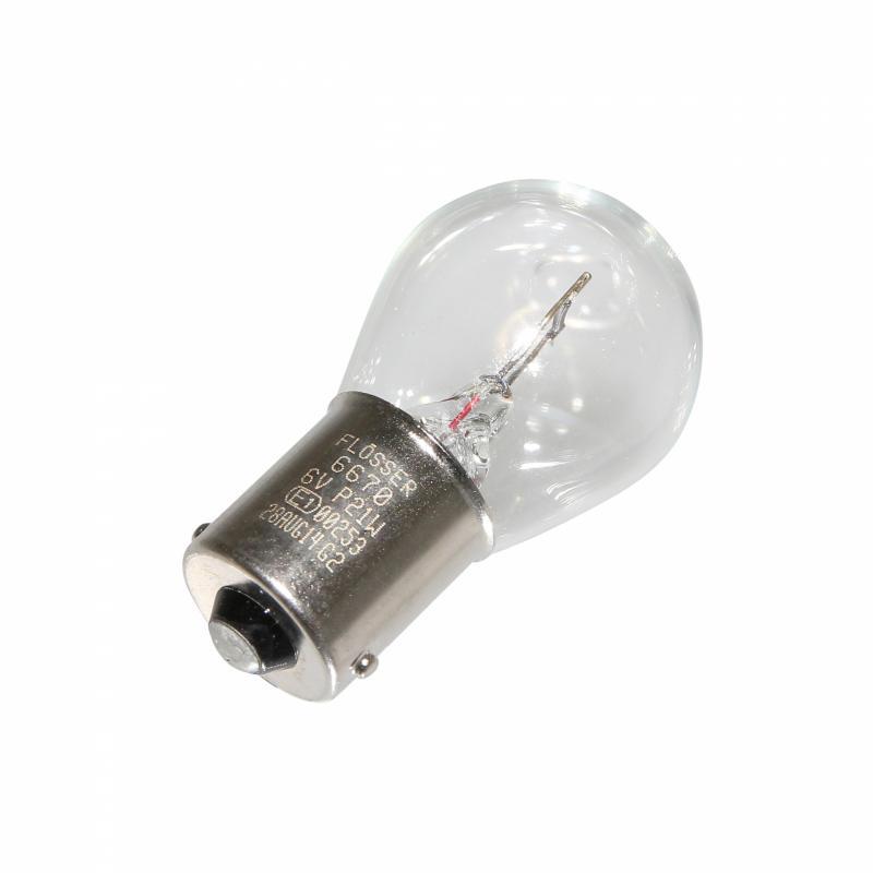 Ampoule Flosser 6V 21W P21W BA15S