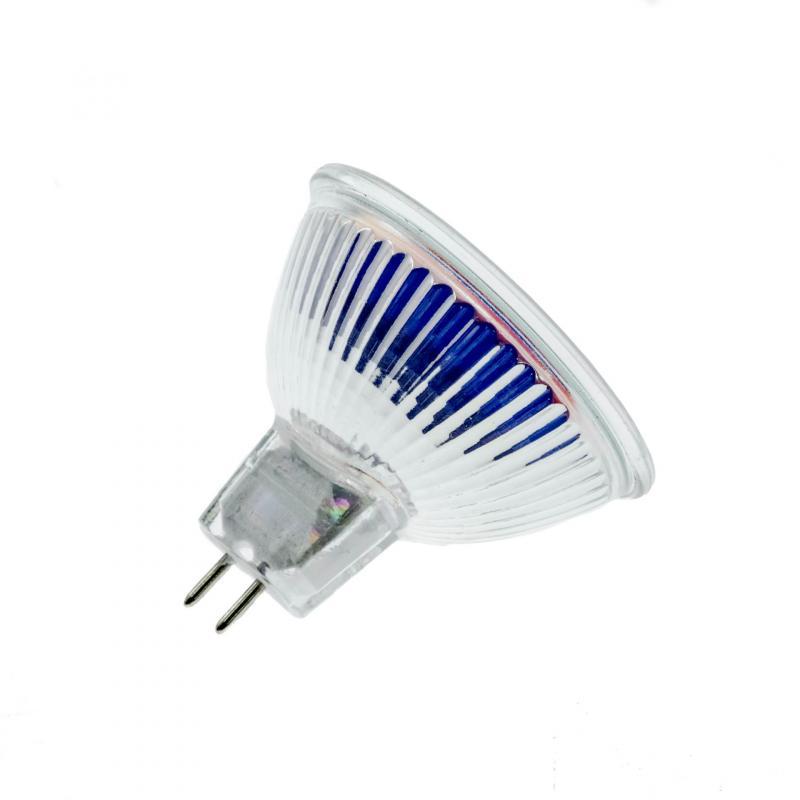 Ampoule Mr16/G030 Dichroïque Blanc D.50 12V 20w