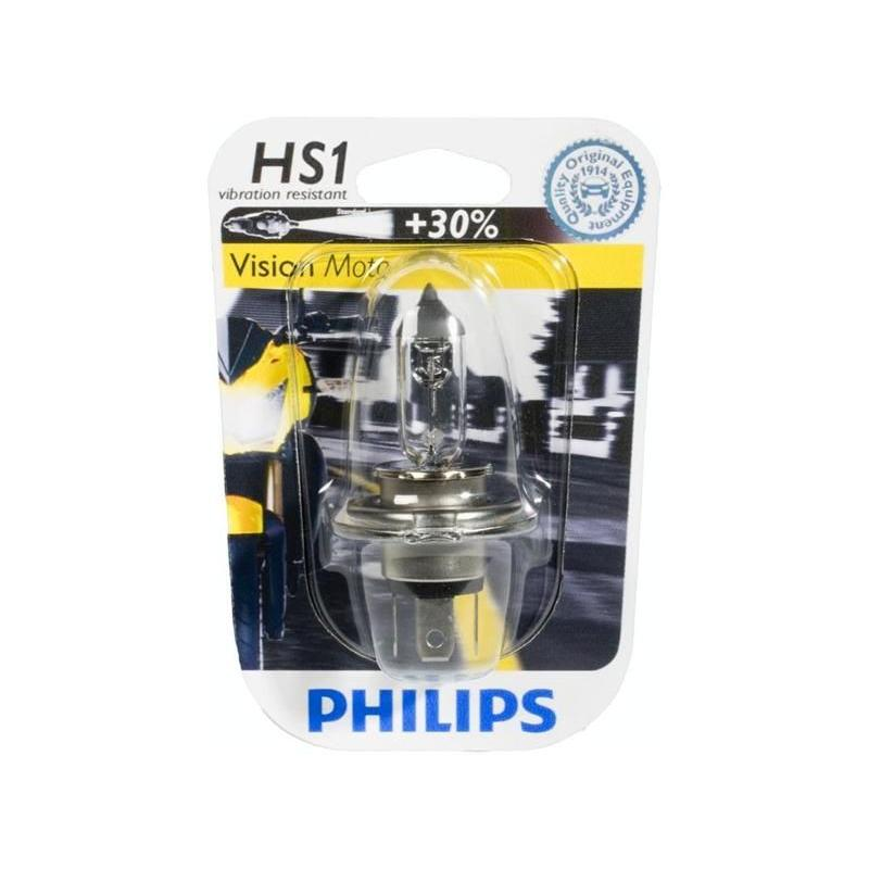Ampoule Philips type HS1 Vision Moto 12V 35/35w