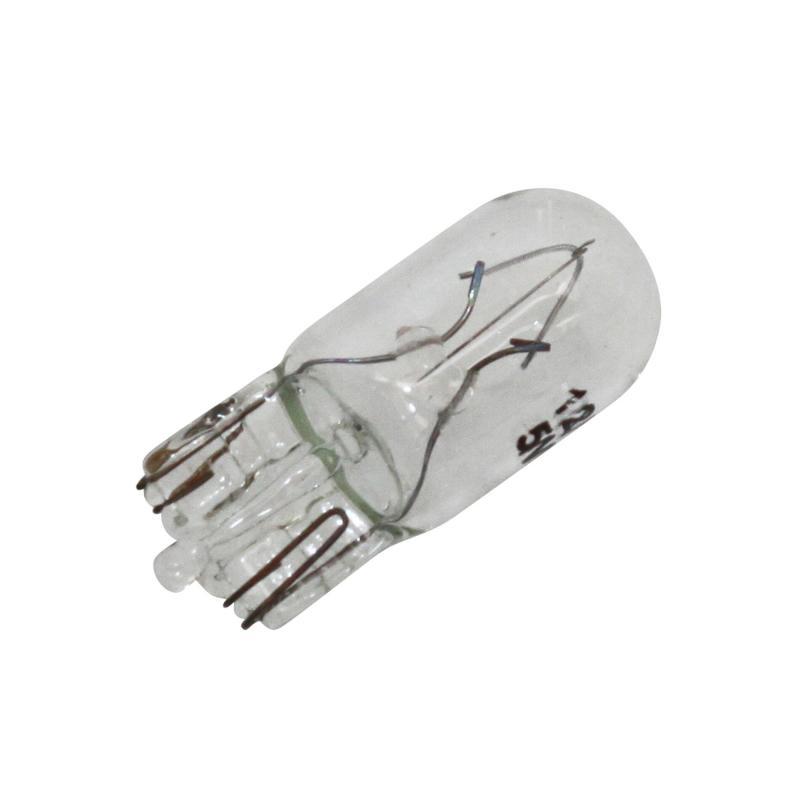 Ampoule T10 W2.1x9.5D Wedge 12V 5W Transparent