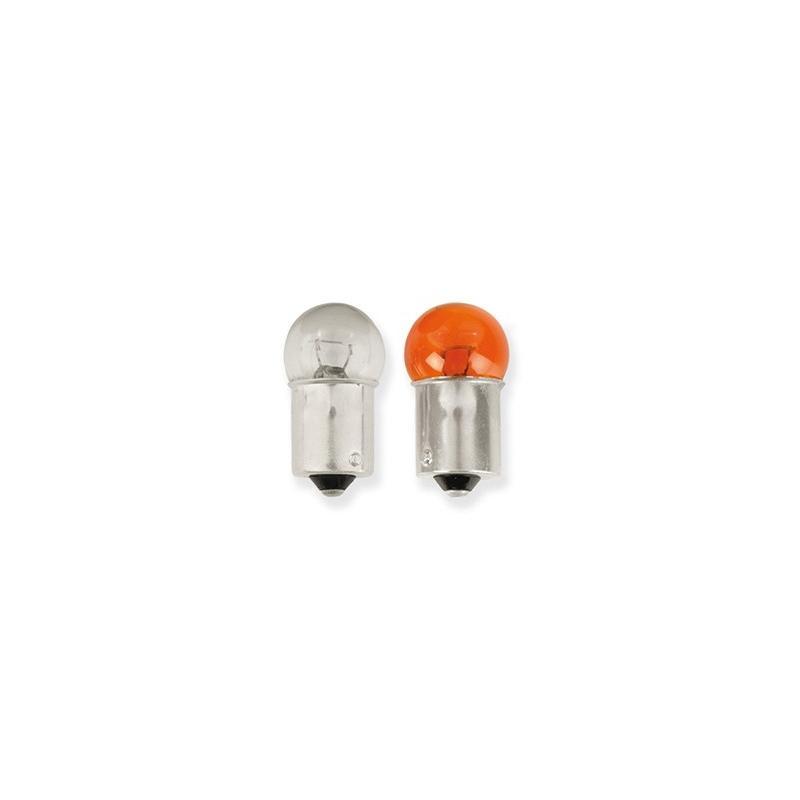 Ampoule Vicma BA15S 12V 23W Orange
