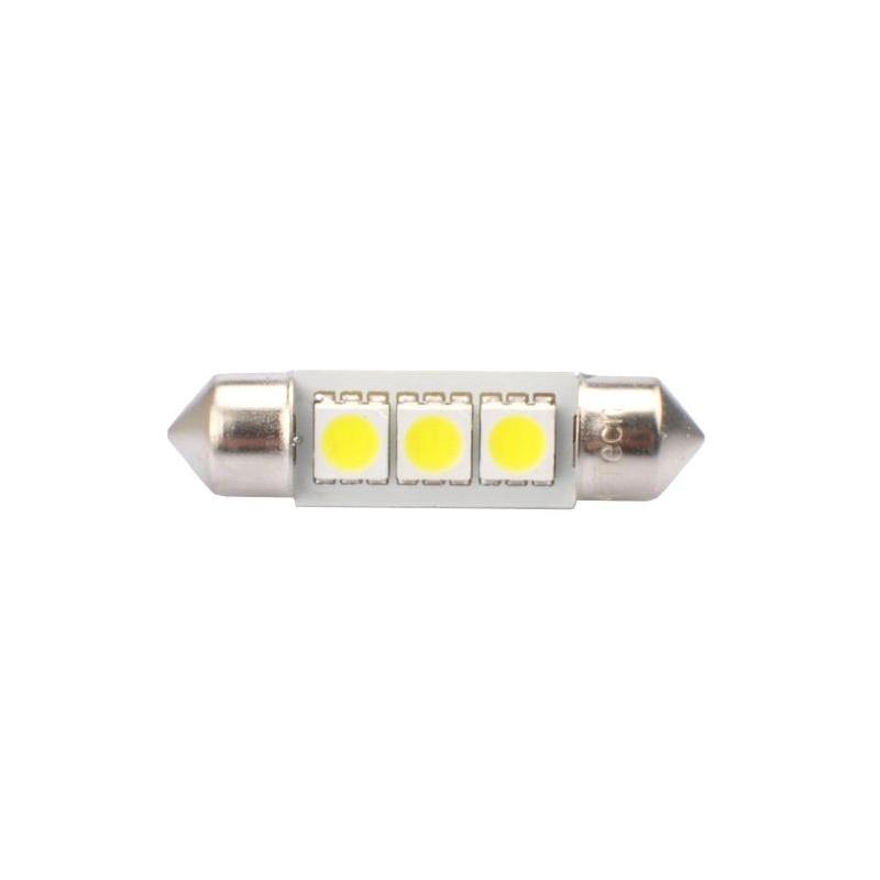 Ampoules à LED blanc C5W 12V 0.72W