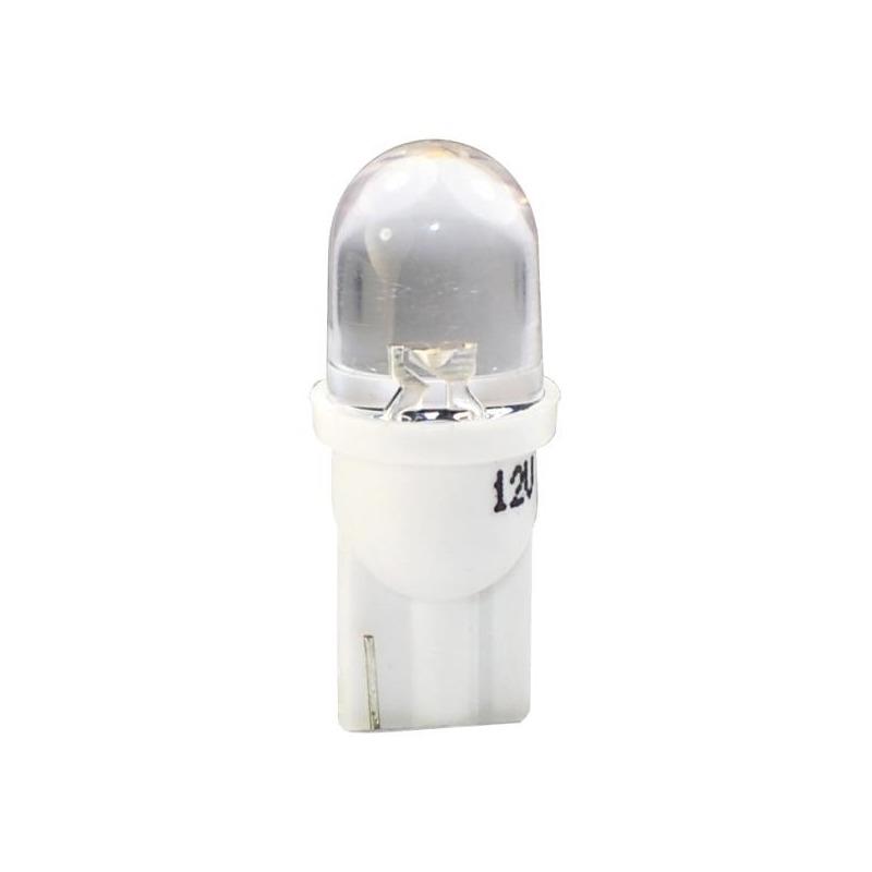Ampoules à LED blanc W5W T10 12V 0.29 W Rond 180°