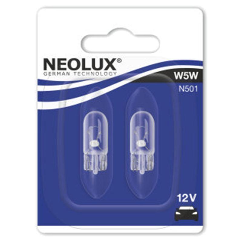 Ampoules Neolux 12V-5W T10 (x2)