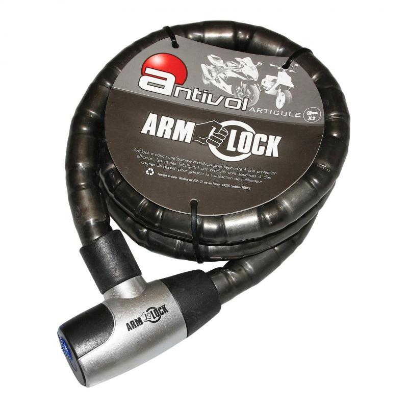 Antivol articulé Armlock 1.50 m D.25 mm