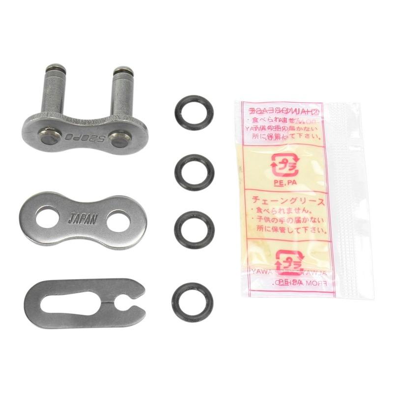 Attache rapide Parts Unlimited PO pas 520 acier à clip avec joints toriques