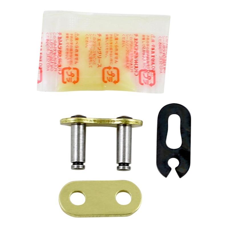 Attache rapide RK MXZ pas 520 acier à clip sans joint torique