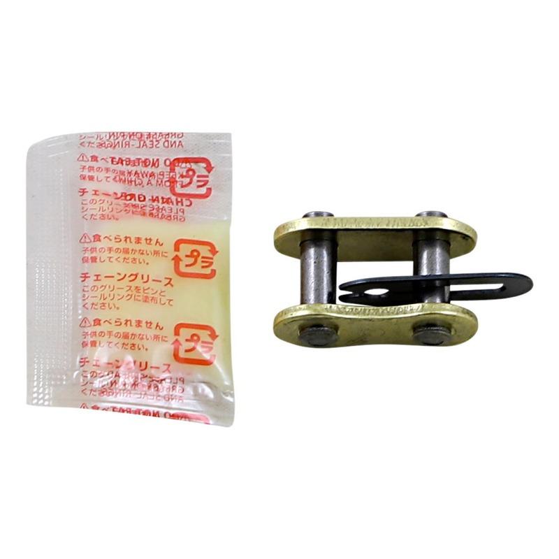 Attache rapide RK MXZ pas 520 or à clip sans joint torique