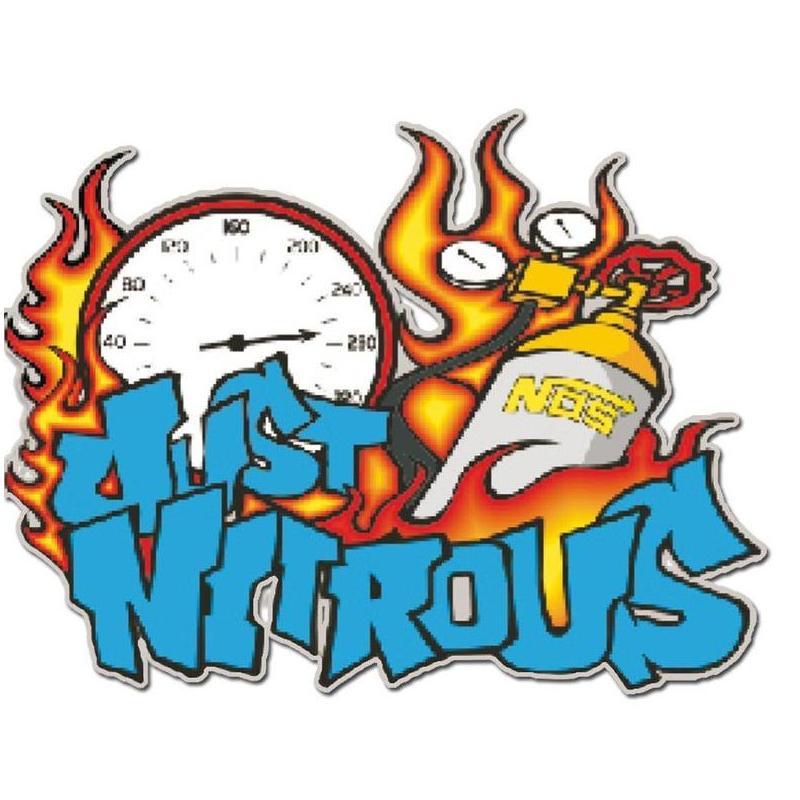 Autocollant Just nitrous 10x12