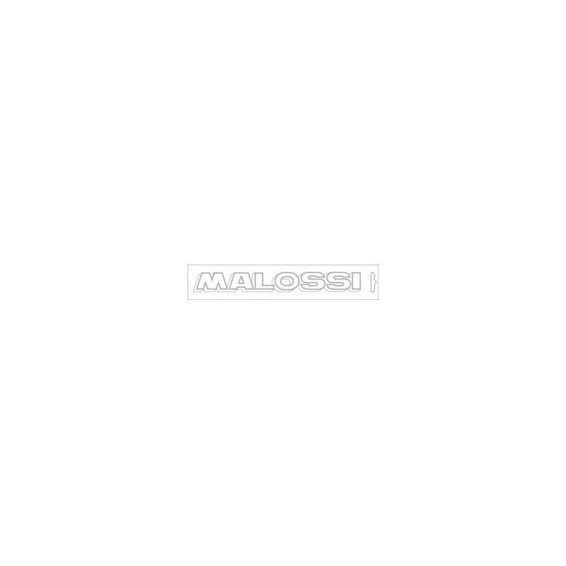 Autocollant Malossi argenté 22 cm