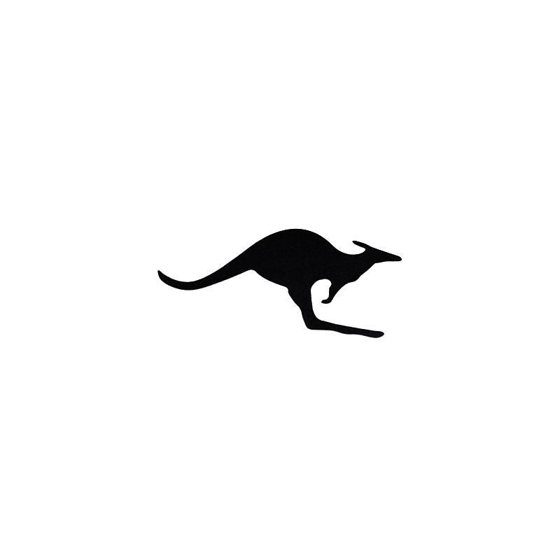 Autocollant Meryt kangourou noir