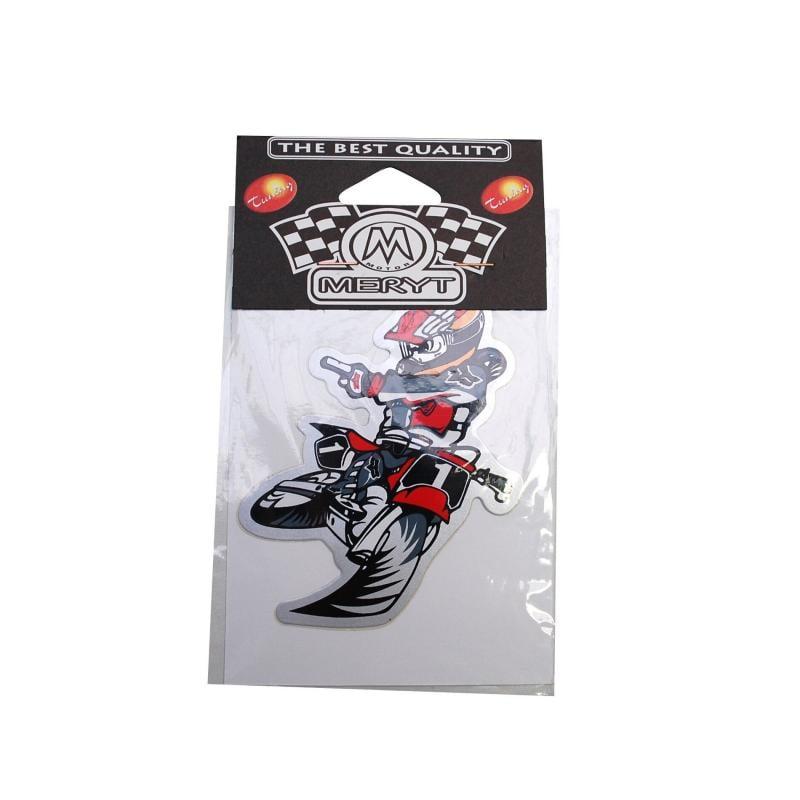 Autocollant Racing Freestyle Moto
