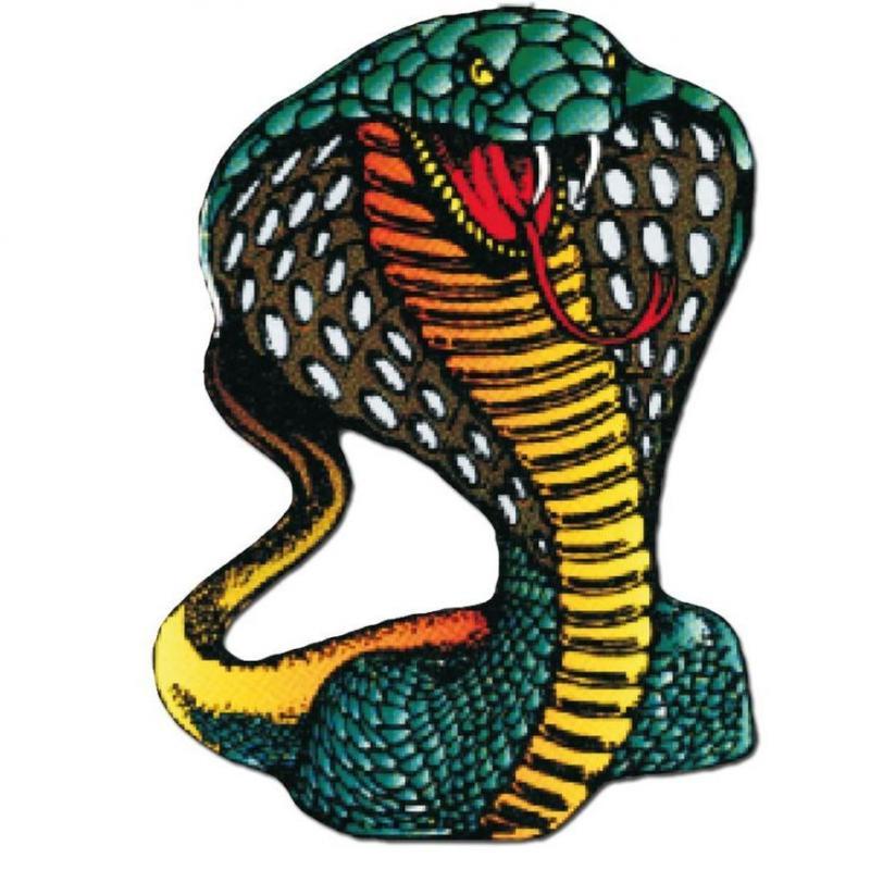 Autocollant Serpent 10x12