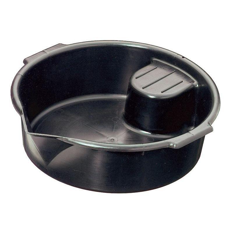 Bac de vidange noir 7l