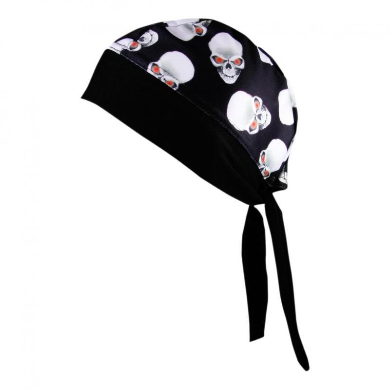 Bandana Shampa & Dirt Skins Z-Wrap Alien skull noir/blanc