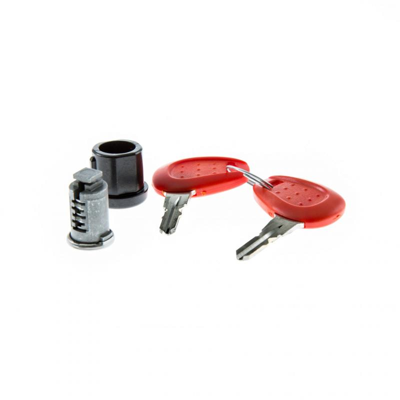 Barillet avec bague et clé avec plastique rouge Givi Z140R