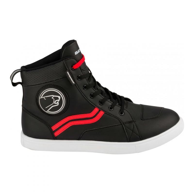 Basket moto Bering Stars Evo noir/rouge