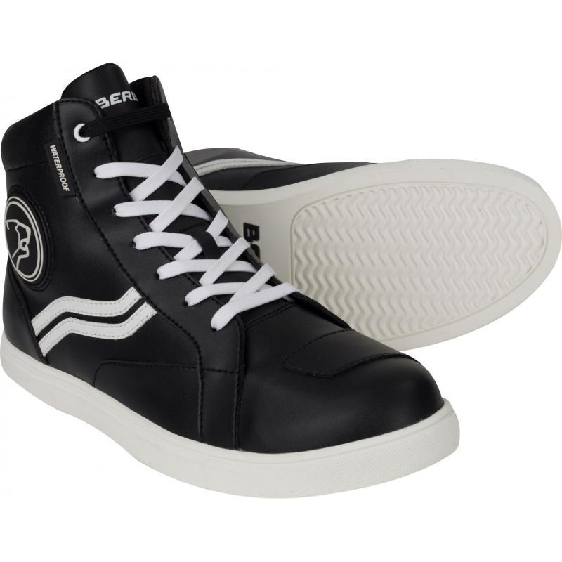 Baskets Bering Stars noir/blanc