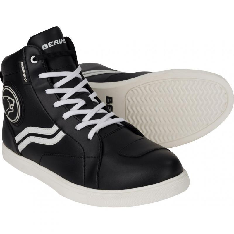 Baskets femme Bering Lady Stars noir/blanc