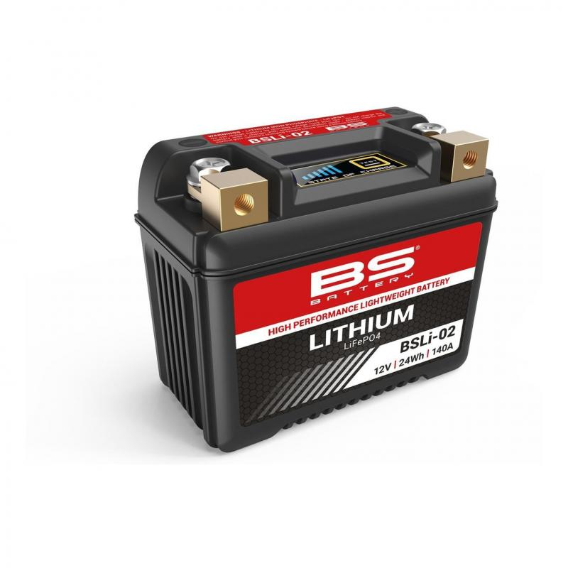 Batterie BS Battery BSLI-02 12V 2Ah Lithium