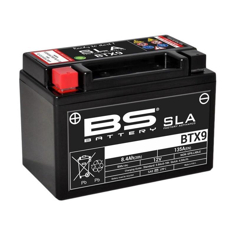 Batterie BS Battery BTX9 12V 8,4Ah SLA activée usine