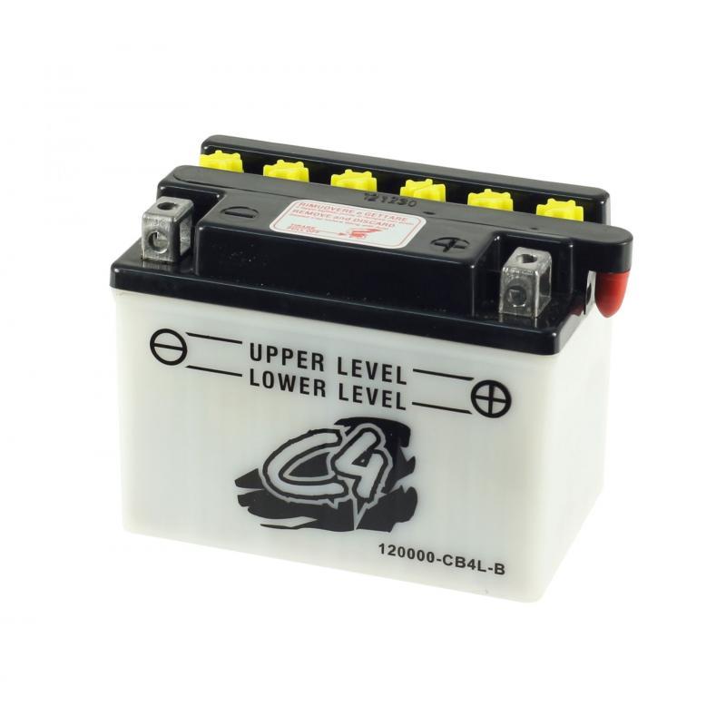 Batterie C4 CB4L-B 12V 4Ah