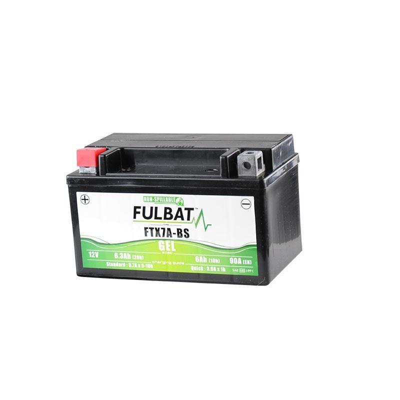 Batterie Fulbat FTX7A-BS gel 12V 6Ah