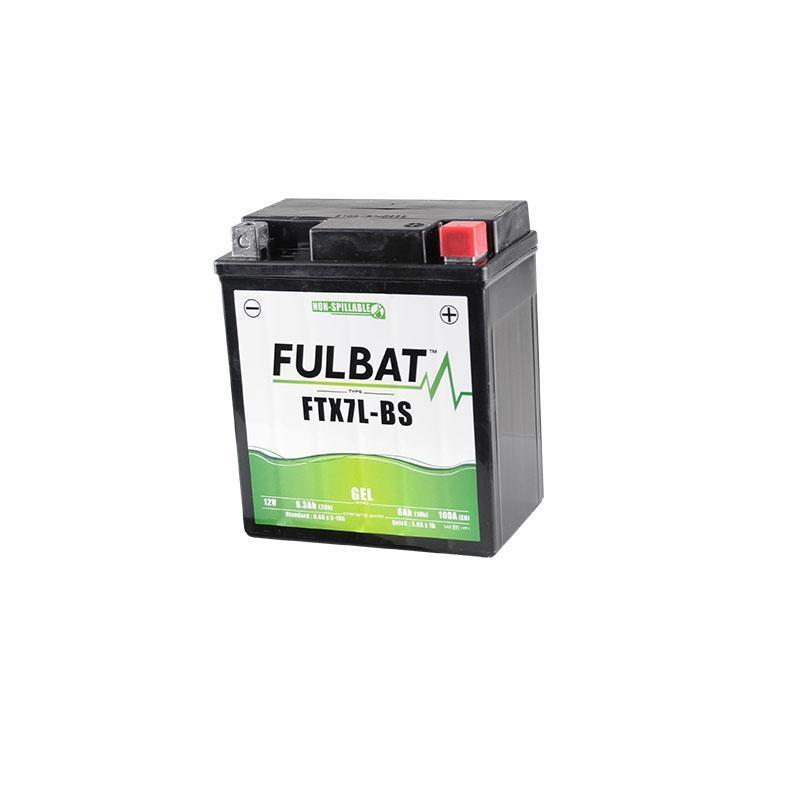 Batterie Fulbat FTX7L-BS gel 12V 6Ah