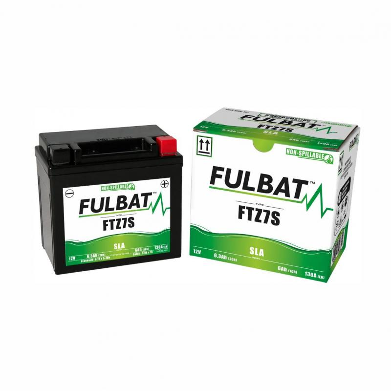 Batterie Fulbat FTZ7S 12V 6Ah