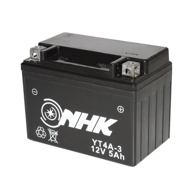 Batterie Gel NHK YT4A-3 12V 5Ah