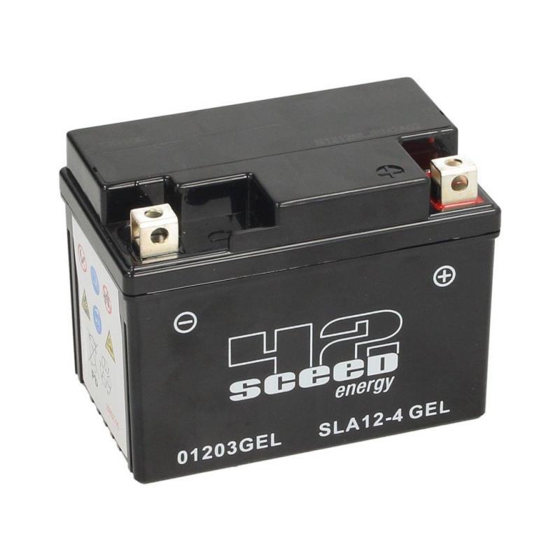 Batterie gel Sceed 42 SLA12-4 12V 4Ah
