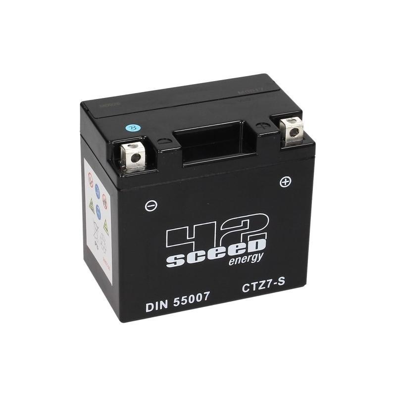 Batterie gel Sceed 42 YTZ7S 12V 6Ah