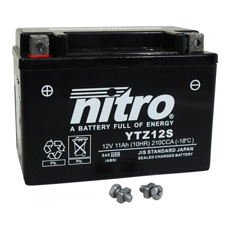 Batterie Nitro 12V 11 Ah YTZ12S Gel