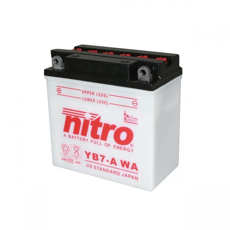 Batterie Nitro YB7-A 12V 8 Ah