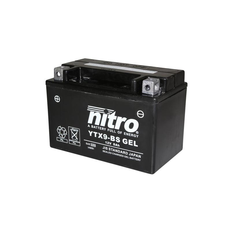 Batterie Nitro YTX9-BS 12V 8 Ah Gel