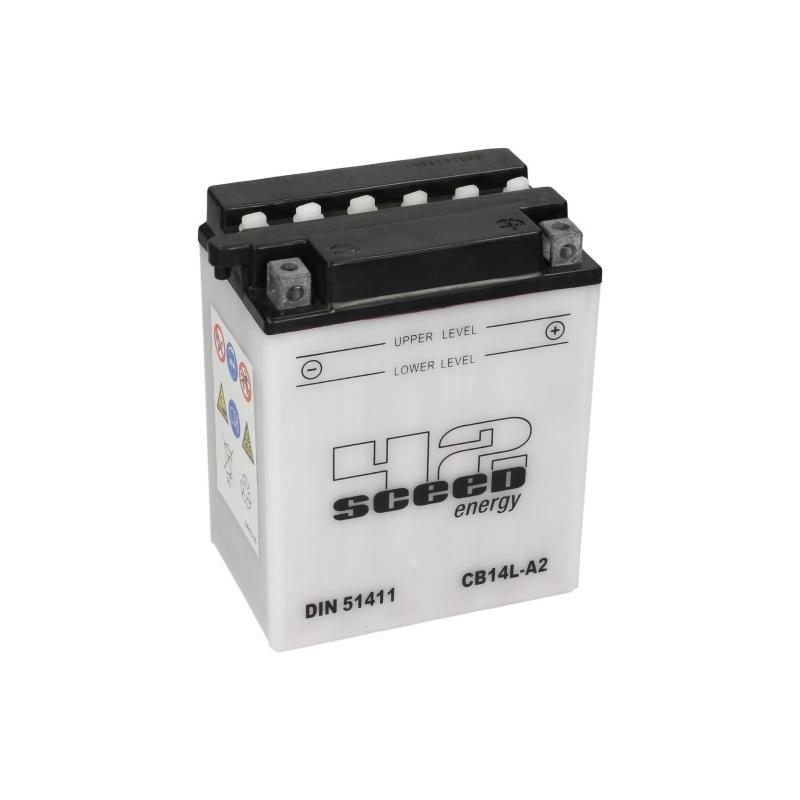 Batterie Sceed 42 YB14L-A2 12V 14Ah avec pack acide
