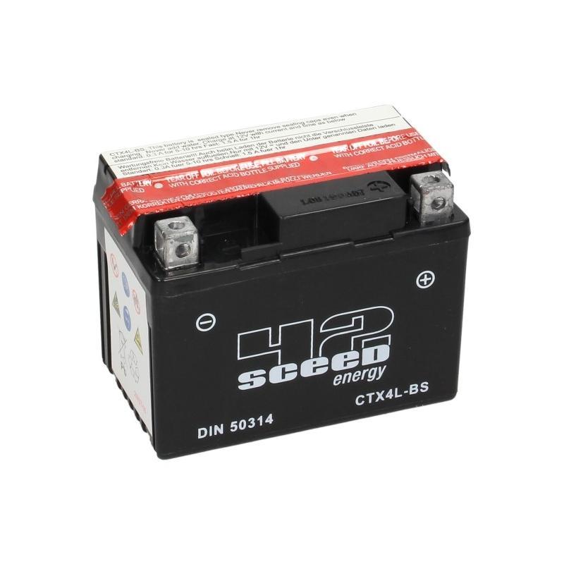 Batterie Sceed 42 YTX4L-BS 12V 3Ah avec pack acide