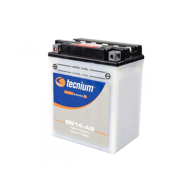 Batterie BS BATTERY BB14-A2 conventionnelle livr/ée avec pack acide