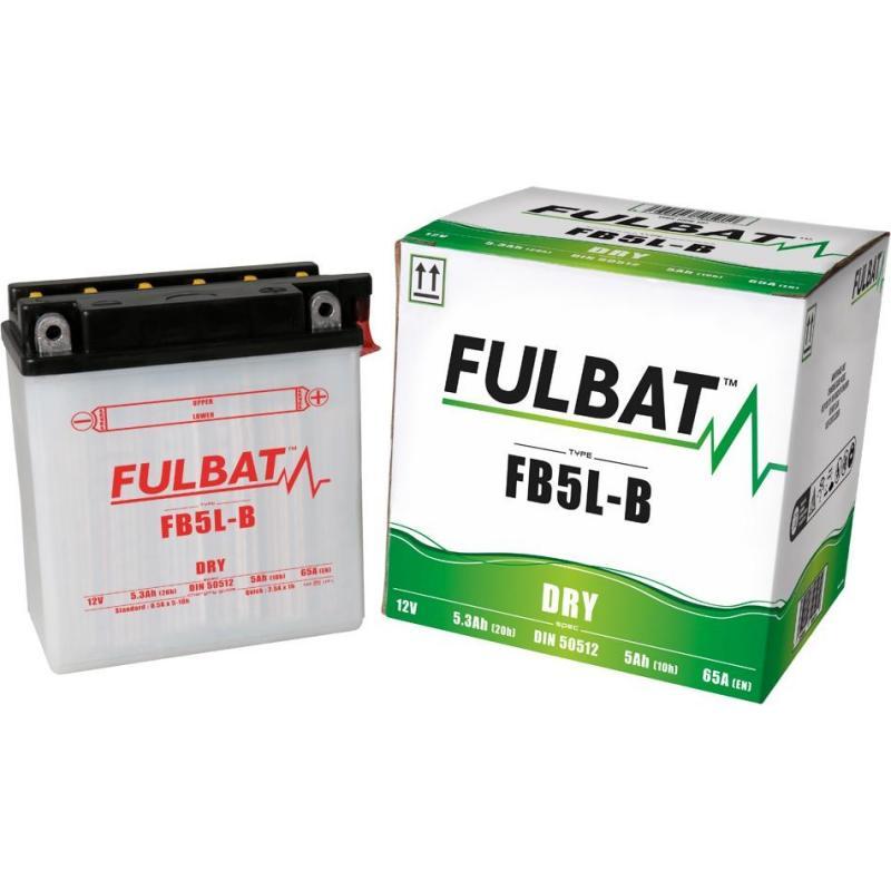 Batterie FB5L-B Fulbat 12V - 5Ah