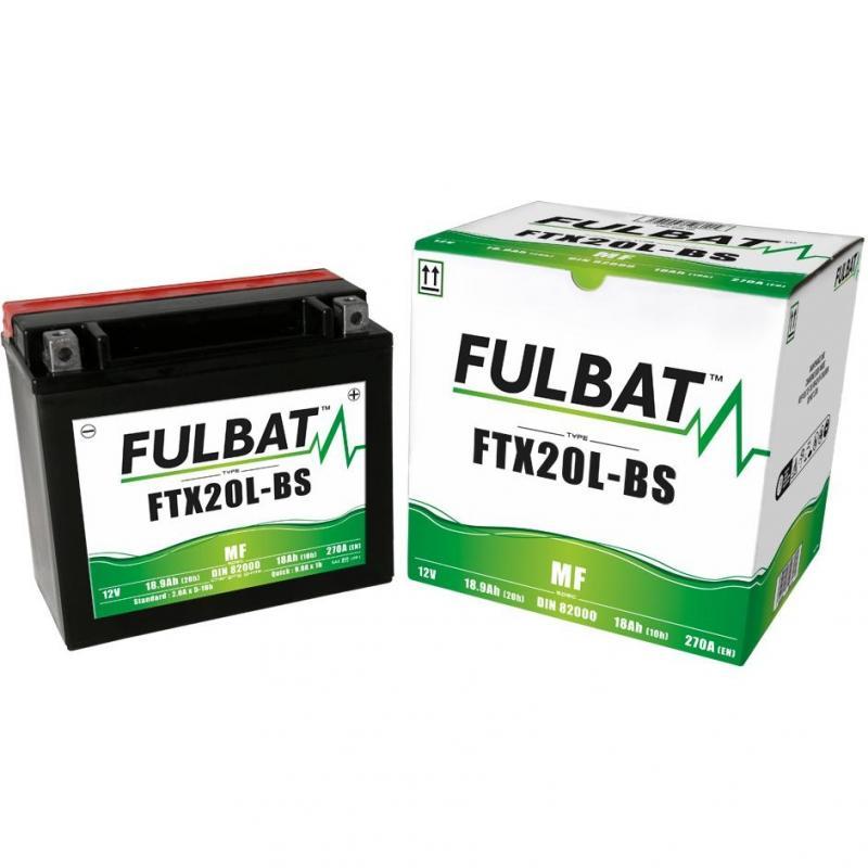Batterie FTX20L-BS Fulbat 12V - 18Ah