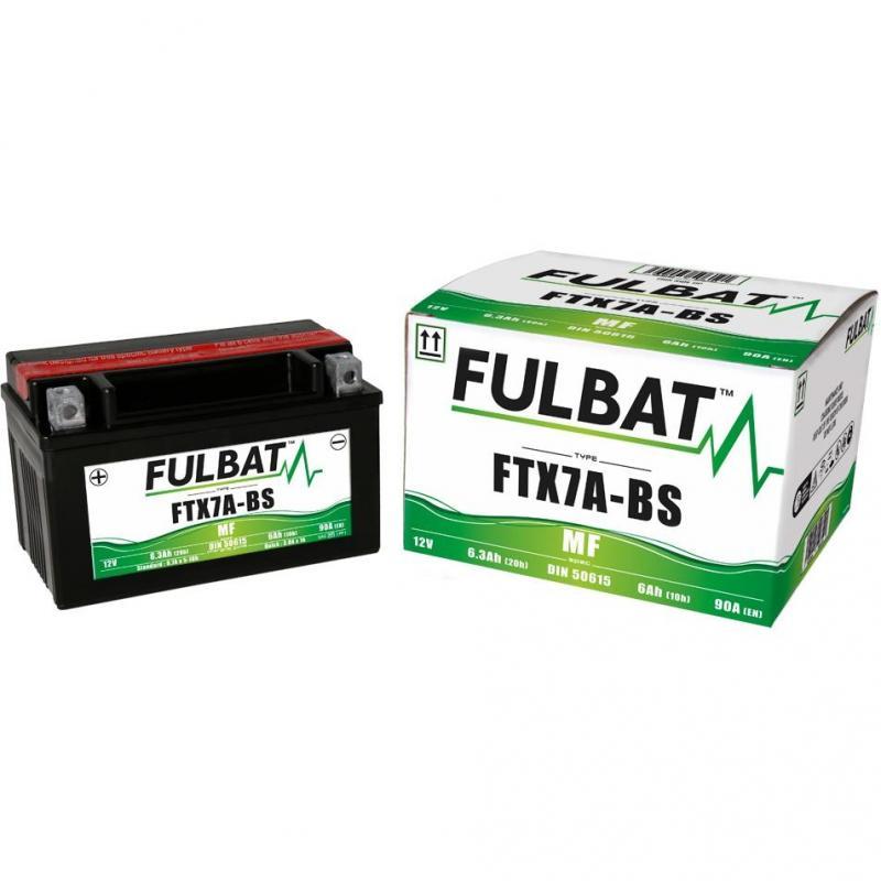 Batterie FTX7A-BS Fulbat 12V - 6Ah