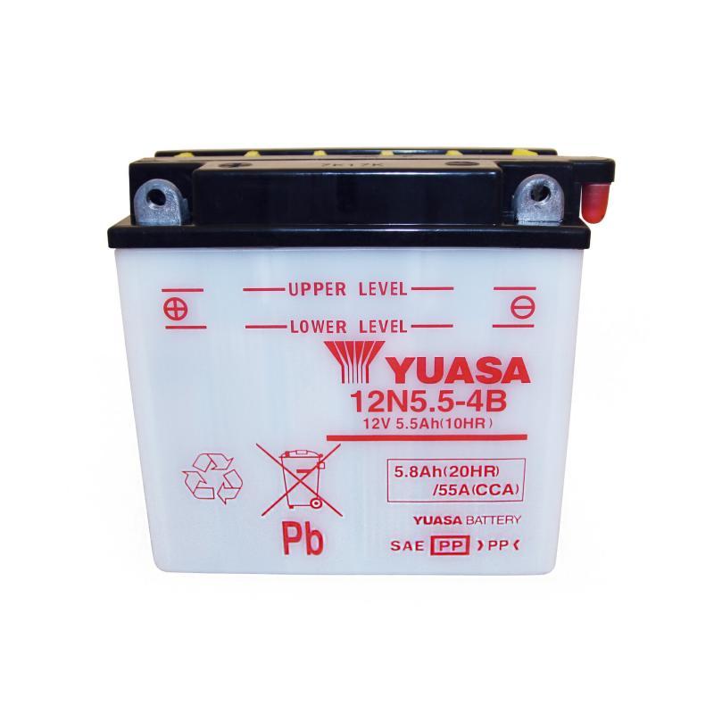 Batterie Yuasa 12N5.5-4B 12V 5,5Ah