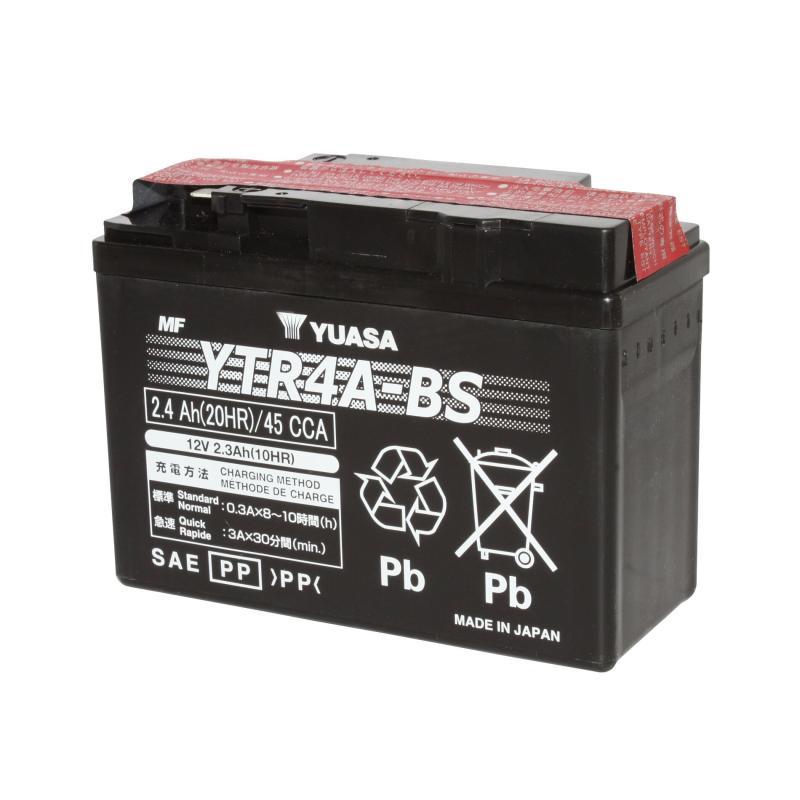 Batterie Yuasa YTR4A-BS 12V 2,3Ah