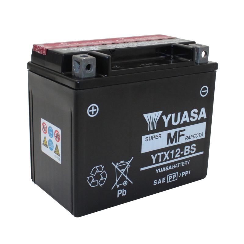 Batterie Yuasa YTX12-BS 12V 10Ah